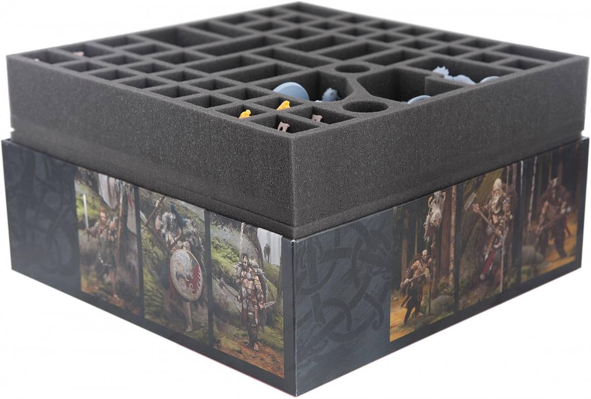 Feldherr Schaumstoff-Set für Blood Rage + 3 Erweiterungen