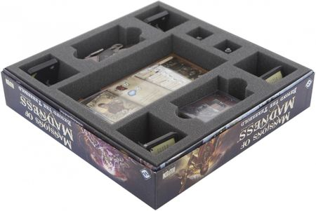 AS050VD05 50 (2 inches) mm foam tray for the Mansions of Madness – Beyond the Threshold board game box