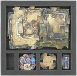 AF030IA13 30 mm foam tray with 5 compartments for Imperial Assault - map tiles