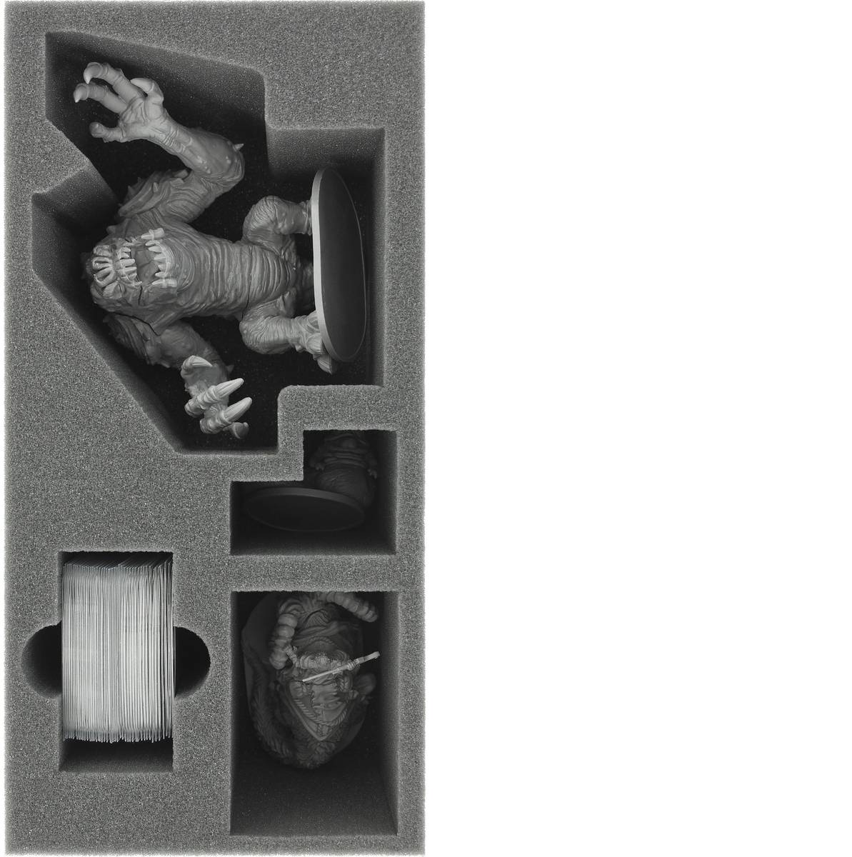 BEJG110BO 285 mm x 142,5 mm x 110 mm foam tray for Imperial Assault: Jabba's Realm - Rancor
