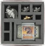 Foam tray Value Set for Arcadia Quest: Whole Lotta Lava board game box