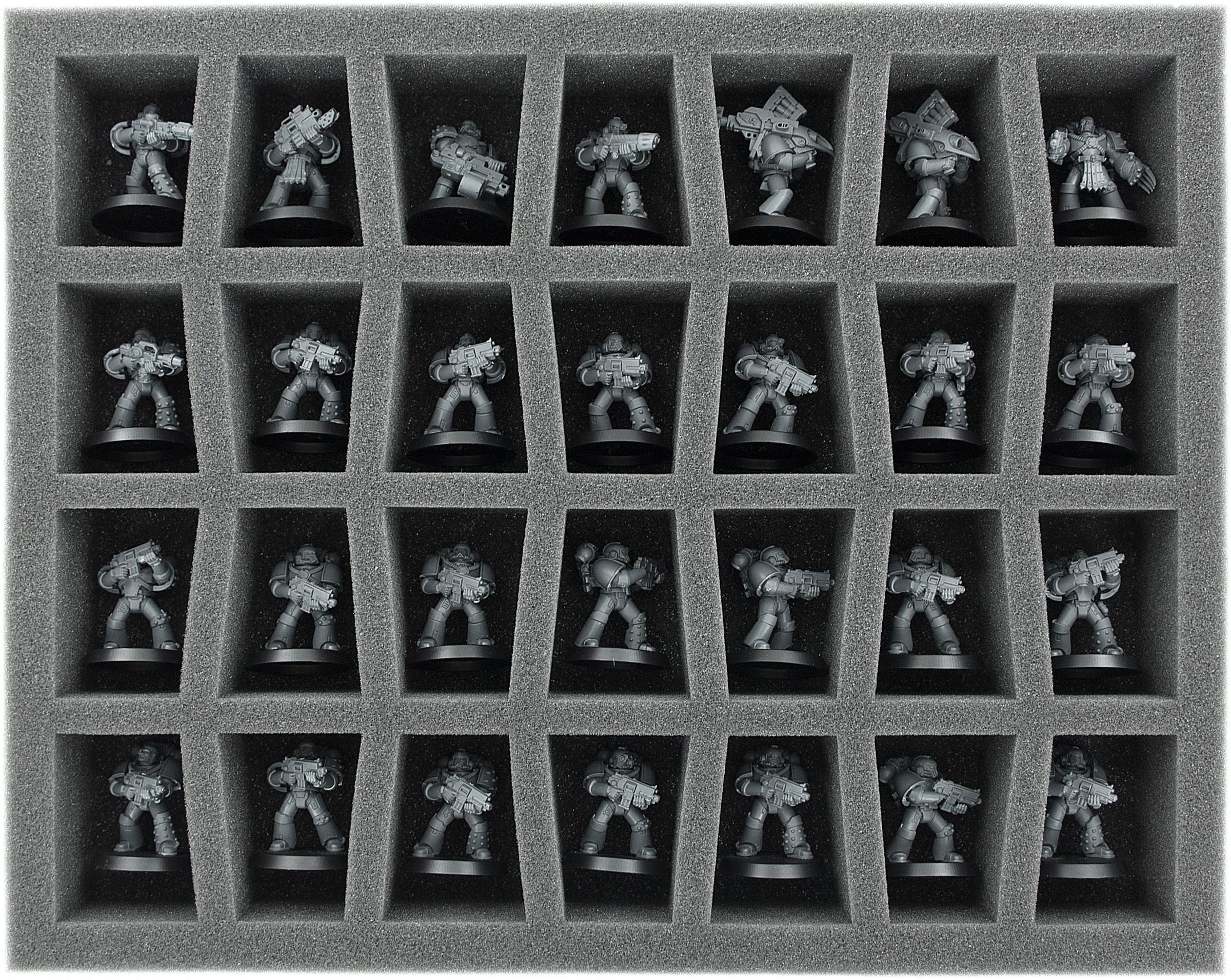 Feldherr Storage Box M for large based miniatures