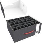 Feldherr Lagerbox M für Miniaturen auf großer Base