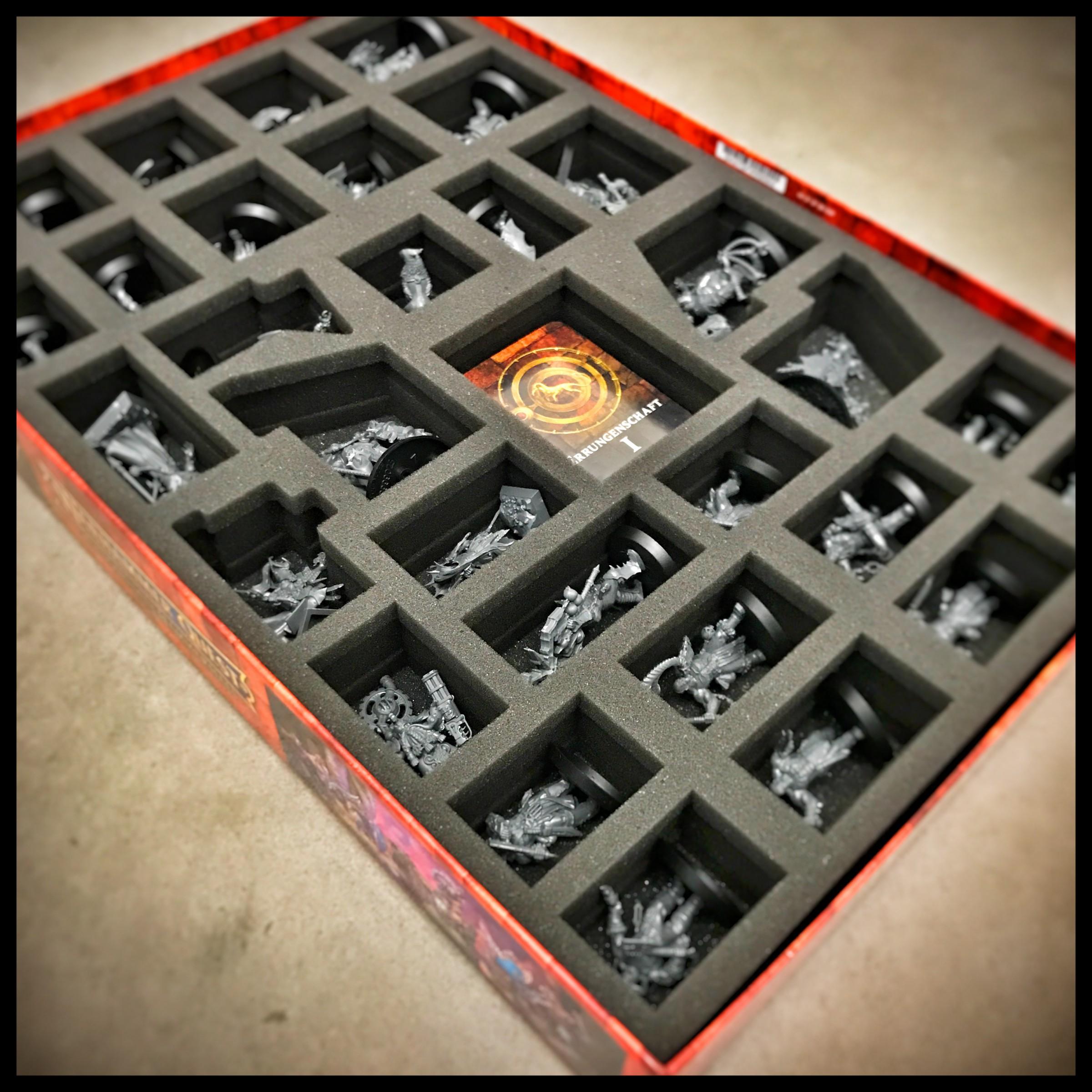 Feldherr Schaumstoff Set für die Warhammer Quest Shadows Over Hammerhal Box