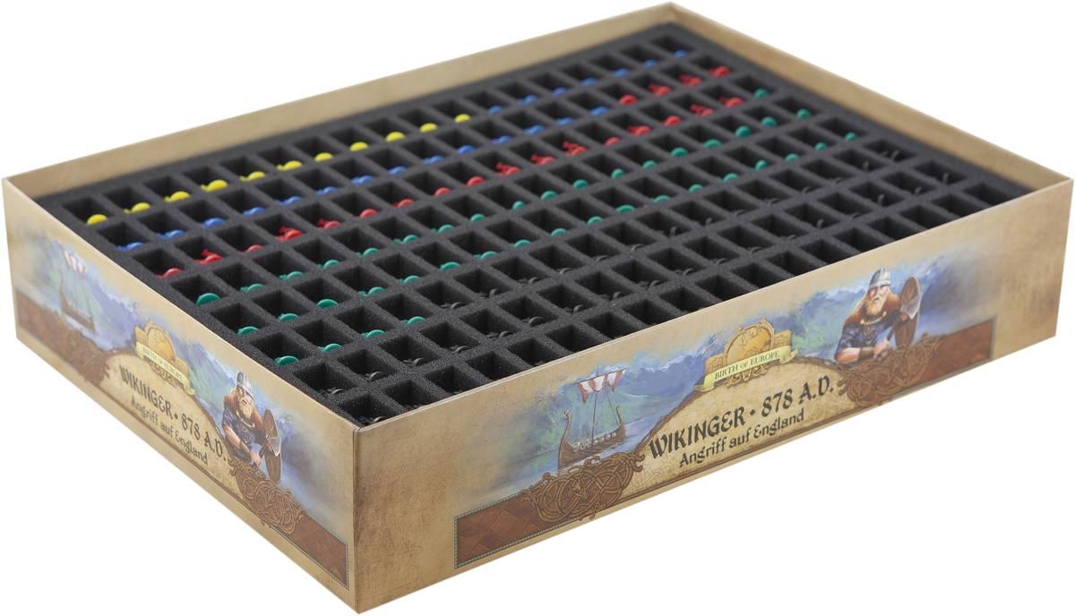 Feldherr foam for the complete 878 Vikings - Invasions of England + Vikings Age Kickstarter Pledge