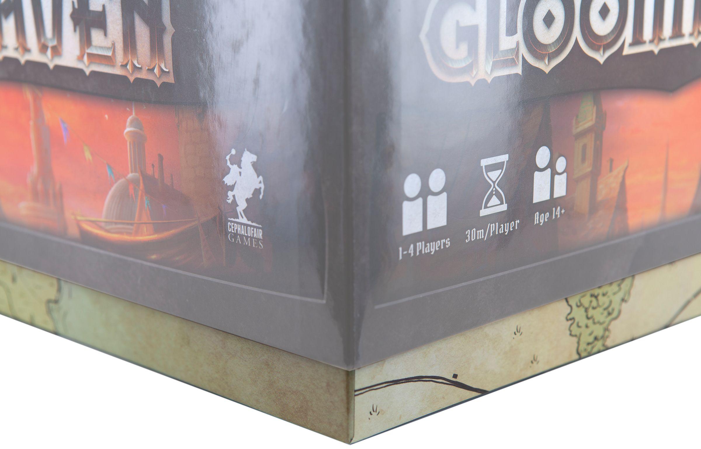 Feldherr Magnetbox gelb für Gloomhaven Brettspiel Miniaturen