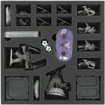 AFJW070BO 70 mm foam tray with 19 compartments for Runewars Miniatures Game - big miniatures