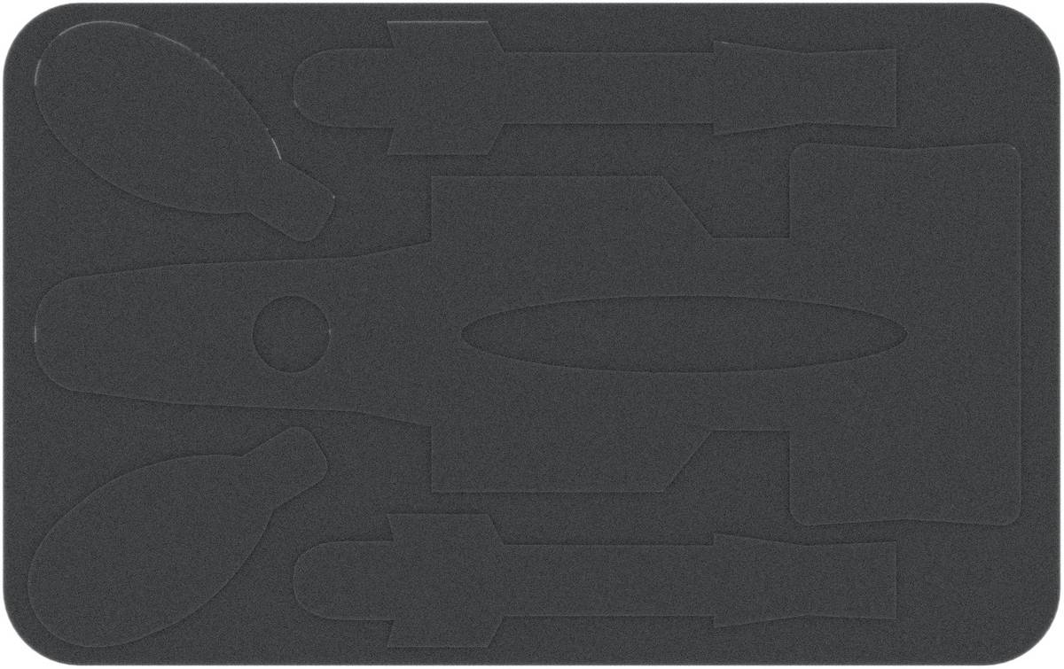 HSKE014 Inlay for C-ROC, Hound's Tooth and Slave 1