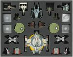Feldherr MAXI Bag for Star Wars X-Wing Scum Wave 1 - 10 and C-ROC Cruiser