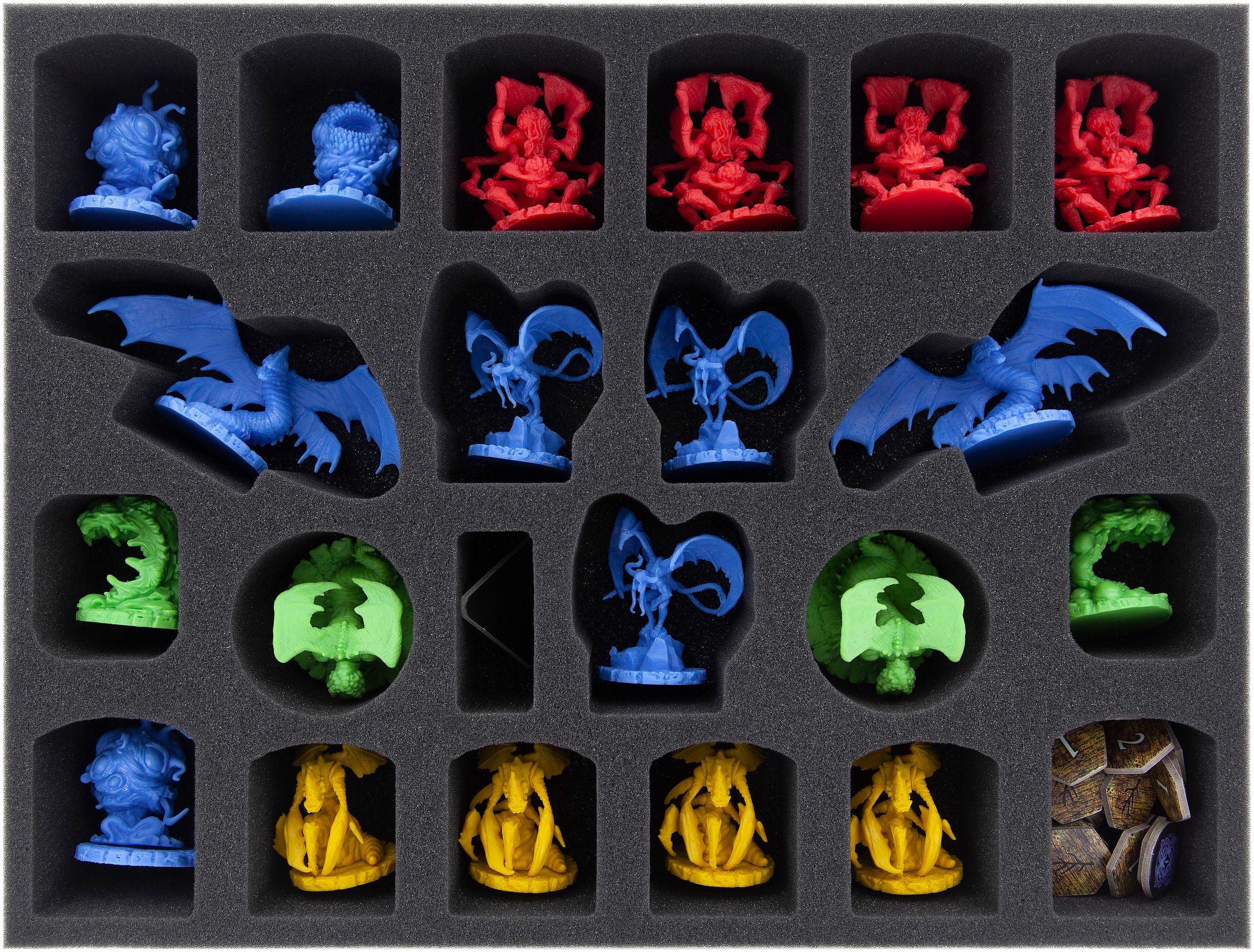Feldherr Schaumstoff-Set für Cthulhu Wars Core Game Brettspielbox