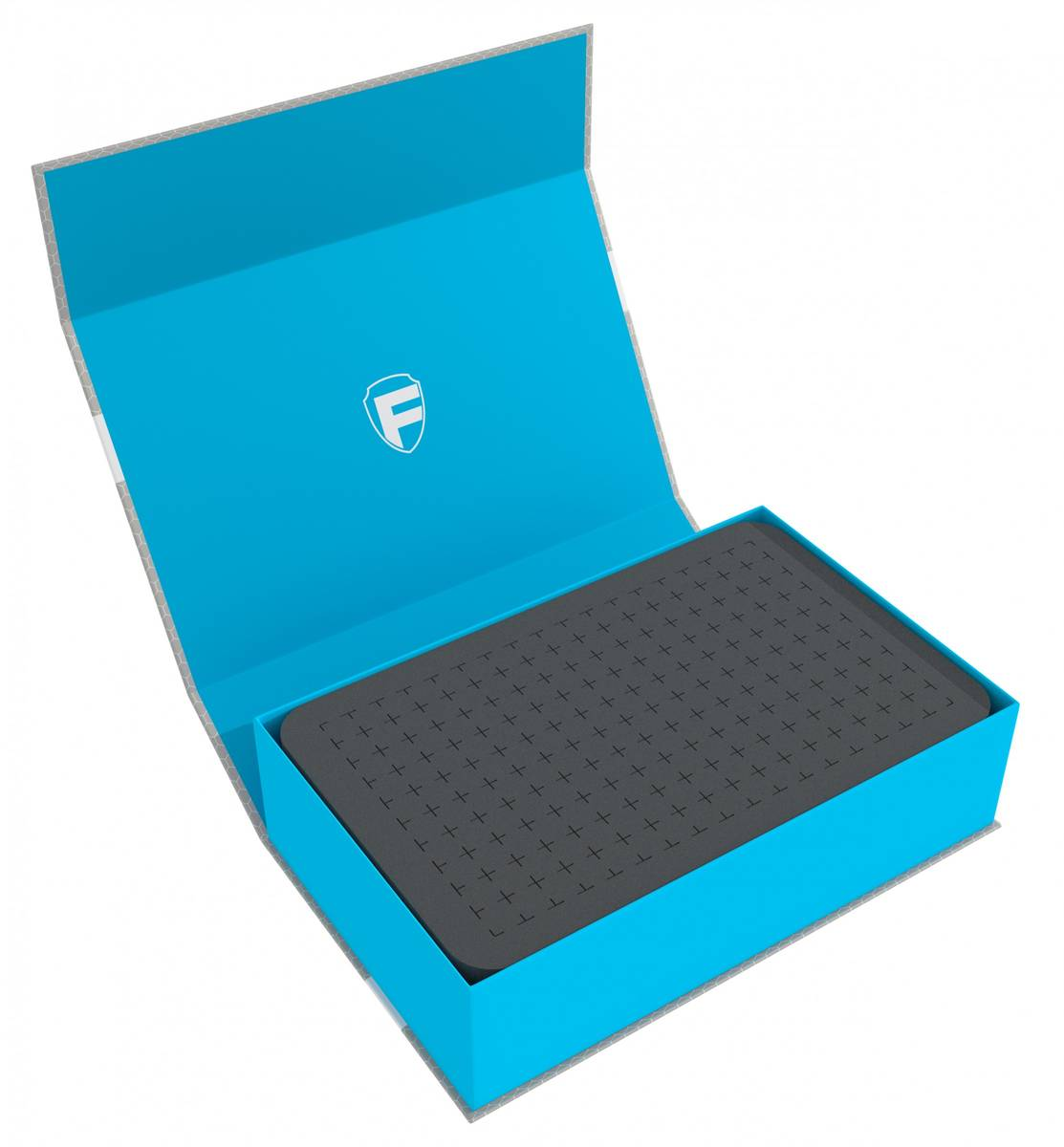 Feldherr Magnetic Box blue with 60 mm pick and pluck foam for custom projects