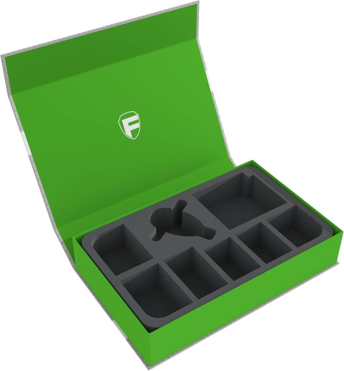 Feldherr Magnetbox grün für Star Wars X-WING Slave 1 und 5 Schiffe