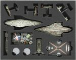 FSKS045BO 45 mm (1.8 inches) full-size foam tray for Star Wars Armada: Rebels