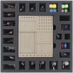 BHKW055BO 55 mm foam tray with 25 compartments for Massive Darkness - Dashboards