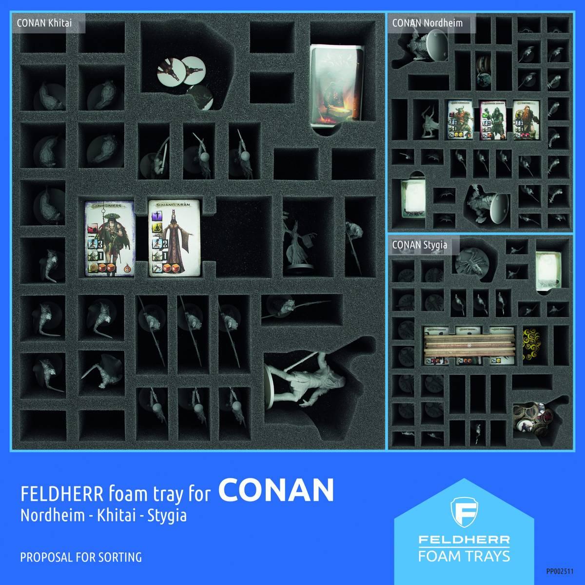 PP002511 - Flyer for Conan: Khitai/ Nordheim/ Stygia