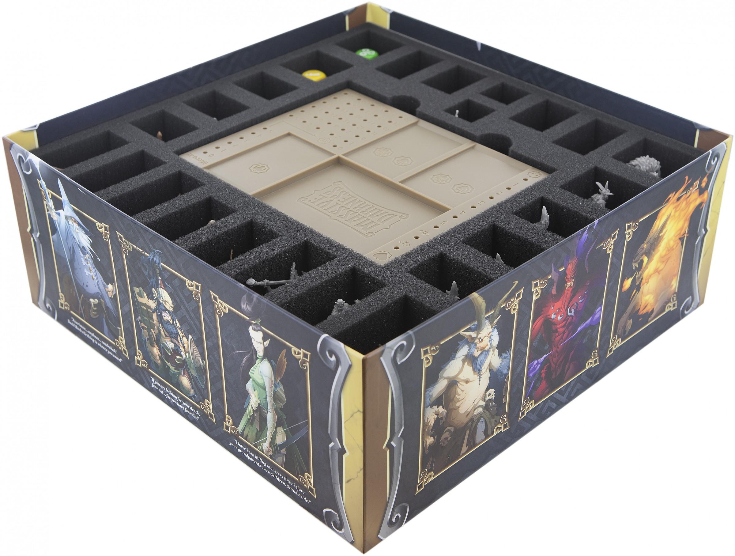 Feldherr Schaumstoff-Set für Massive Darkness das Brettspiel