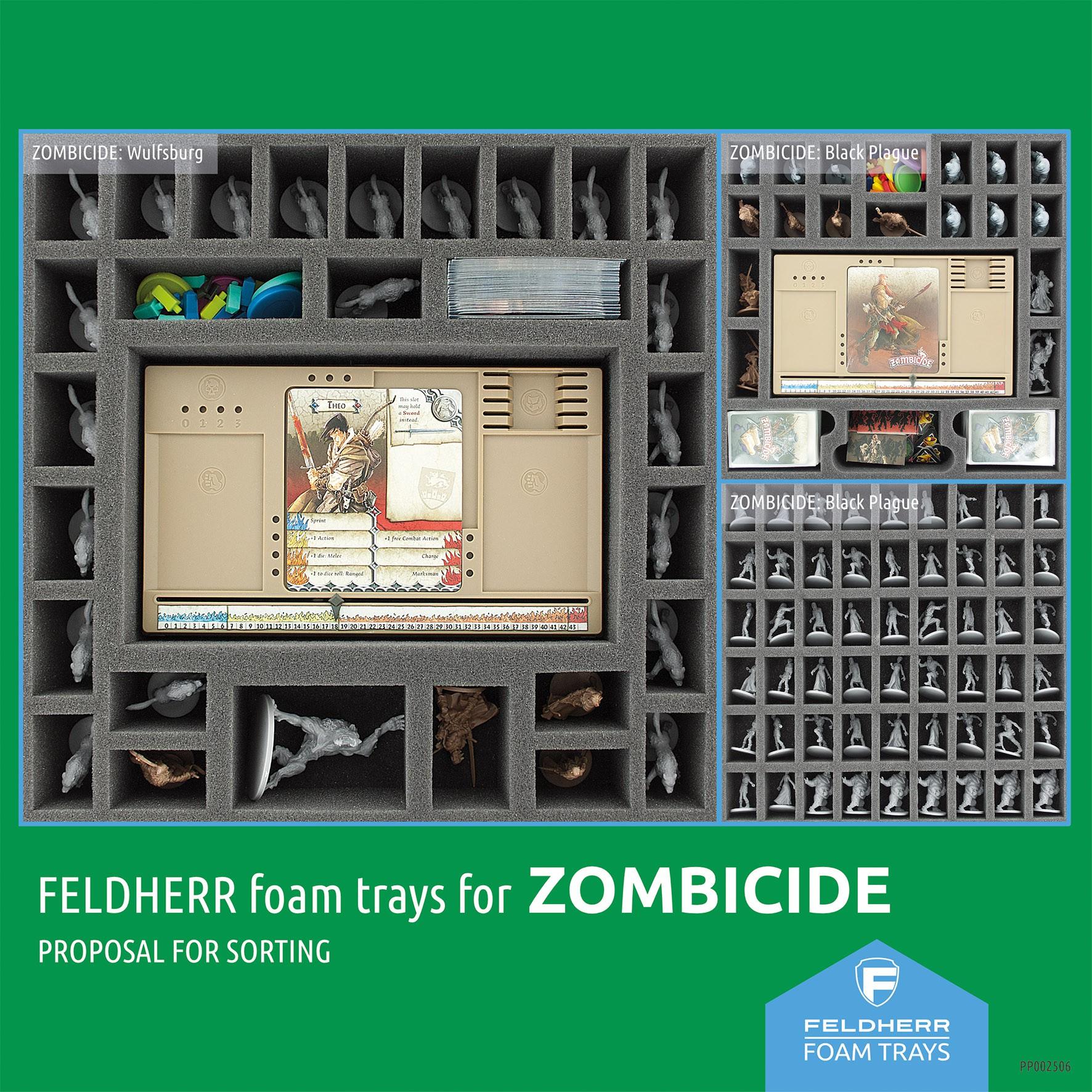 PP002506 - Flyer for Zombicide: Black Plague