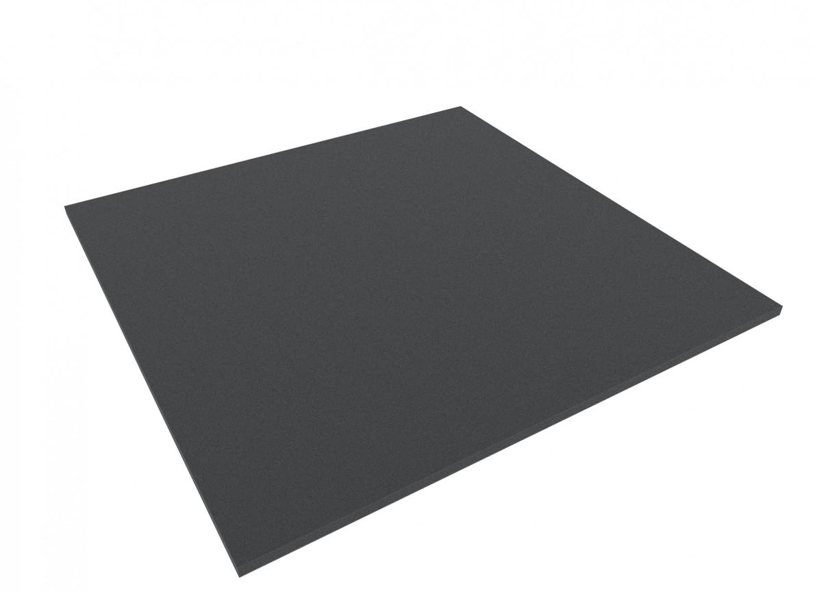 1000 mm x 1000 mm x 10 mm foam sheet