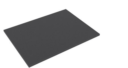 BLBA010 400 mm x 310 mm x 10 mm Foam topper / bottom