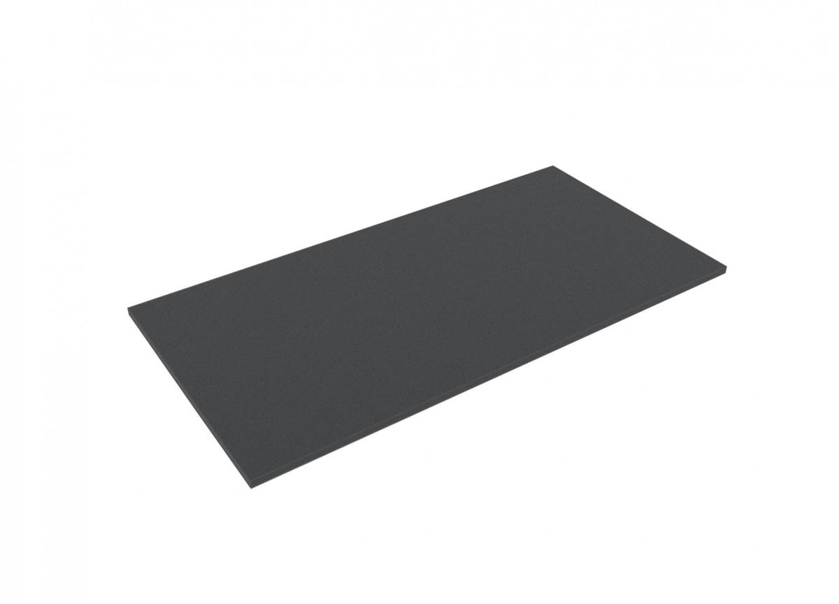 BNBA010 610 mm x 310 mm x 10 mm Foam topper / bottom