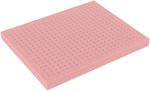 FS025RESD full-size Raster Foam Tray 25 mm (1 inch) - electrostatic dissipative