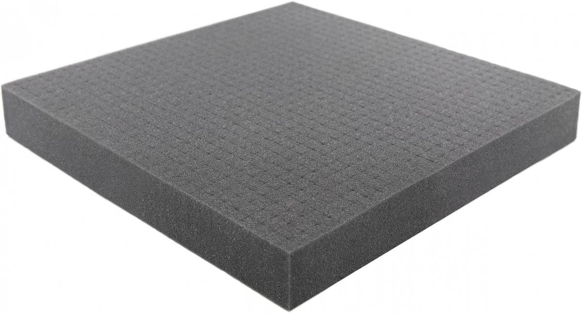 600 mm x 600 mm x 40 mm (1.6 inches) Raster / Pick and Pluck / Pre-Cubed foam tray - Raster 15 mm