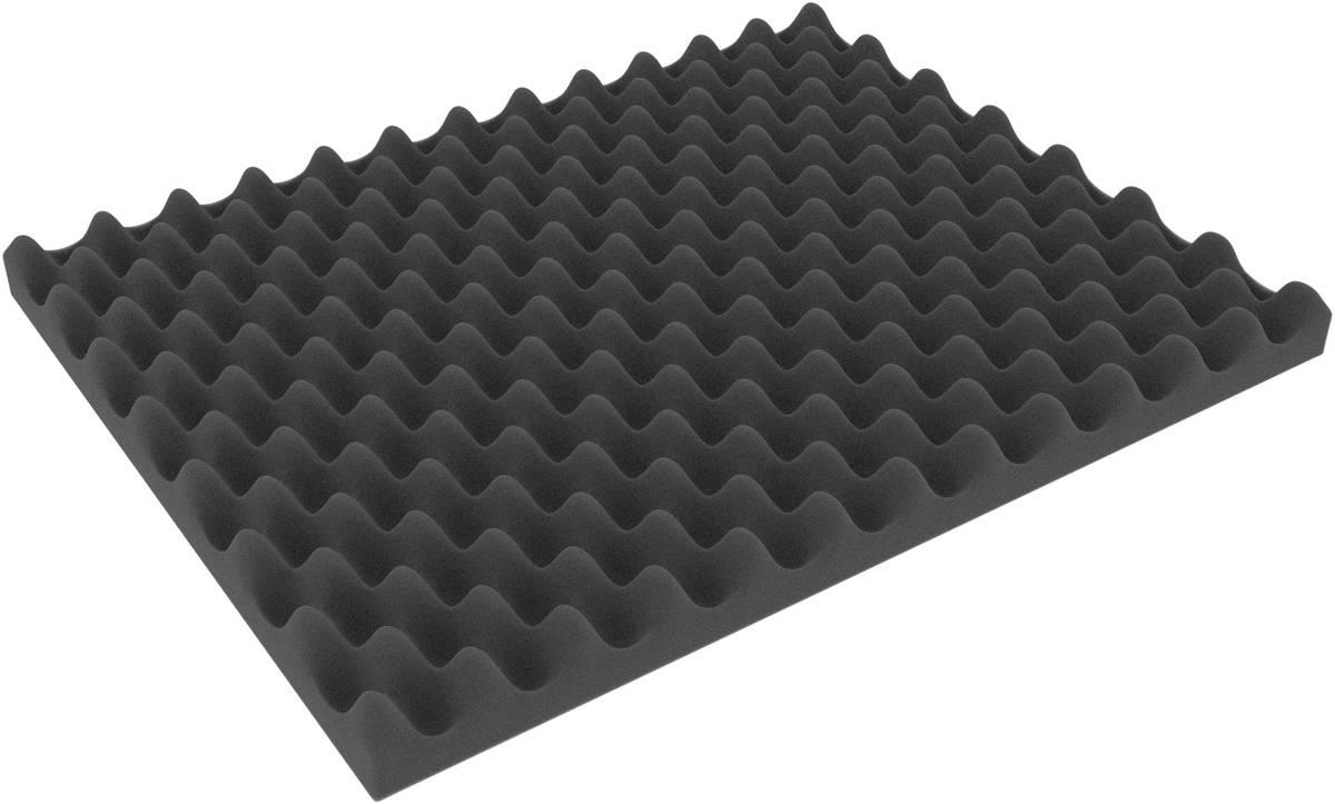 ALNP050 500 mm x 400 mm x 50 mm Convoluted foam