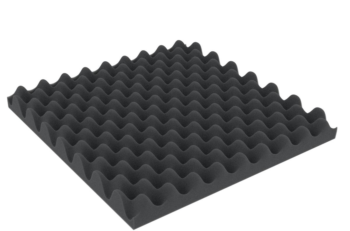 ABNP050 300 mm x 300 mm x 50 mm Noppenschaumstoff