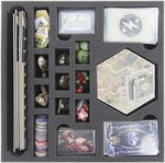 Foam tray value set for Fallout board game box