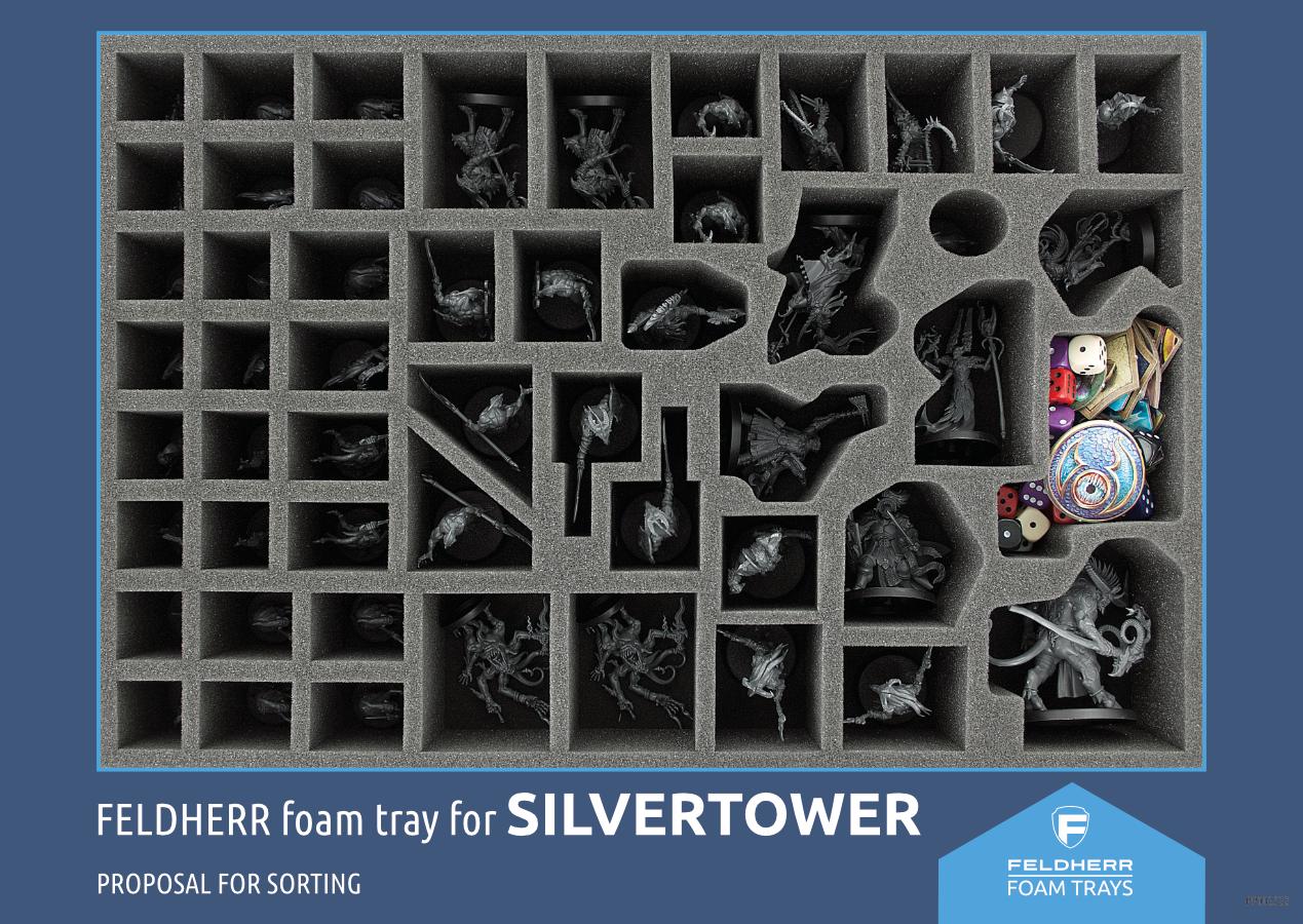 PP002522 - Flyer for Warhammer Quest: Silvertower