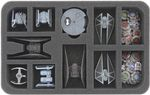 HSMEAC035BO 35 mm foam tray for Star Wars X-Wing TIE Silencer