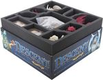 Foam tray set for Descent: Journeys in the Dark 2nd Edition board game box