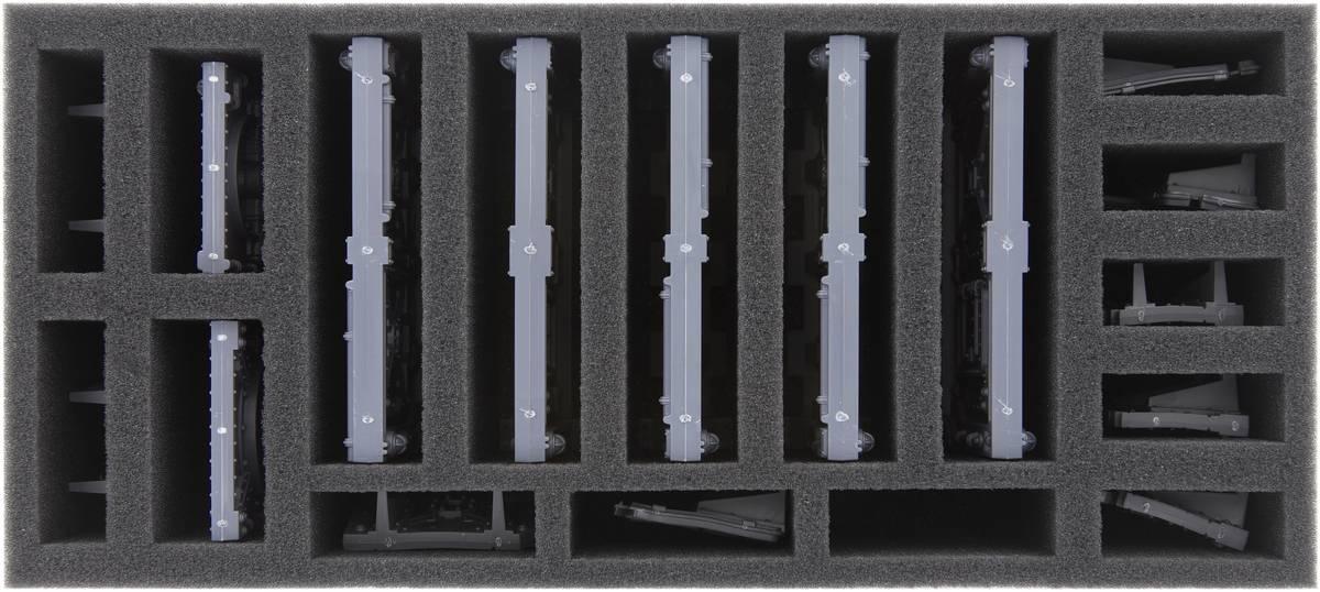 BTMEAO075BO 75 mm Schaumstoffeinlage für Necromunda