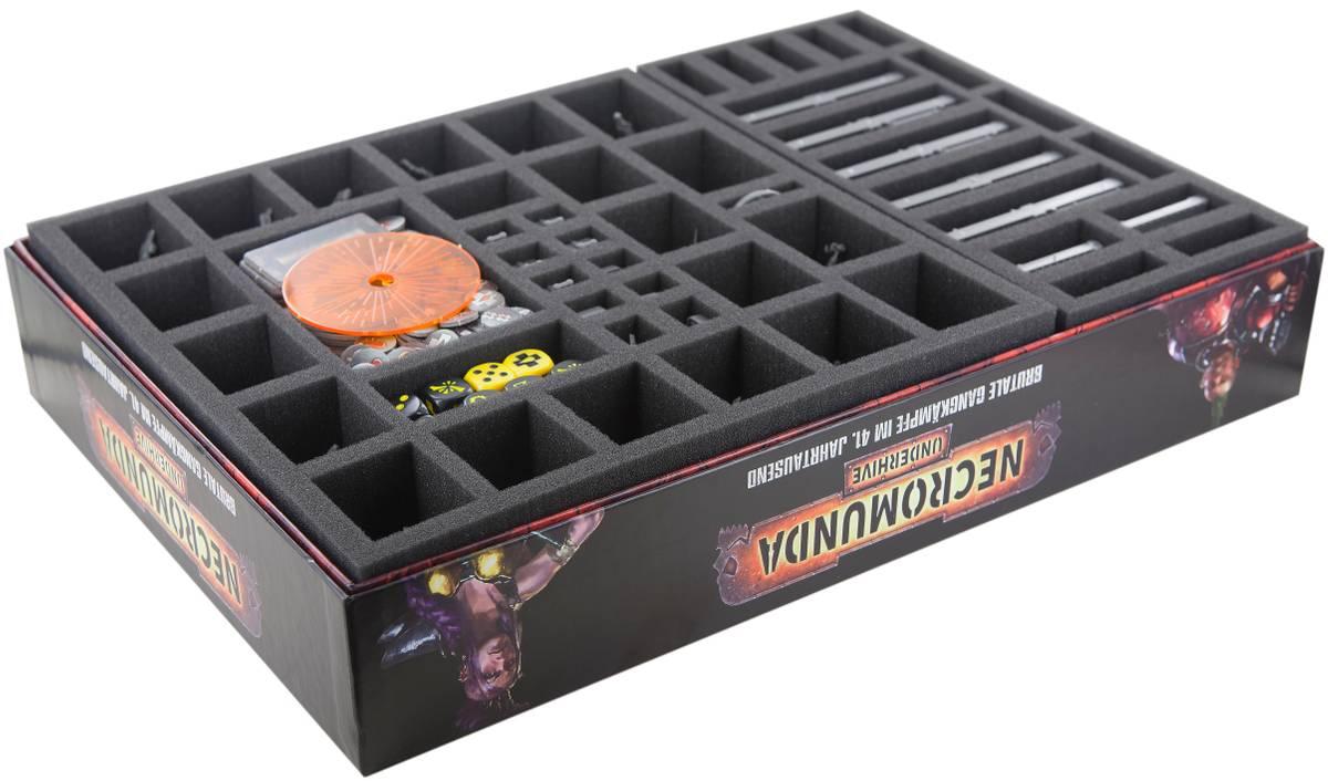 Feldherr Schaumstoff-Set für Necromunda: Underhive Brettspielbox