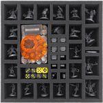 Foam tray set for Necromunda: Underhive boardgame box