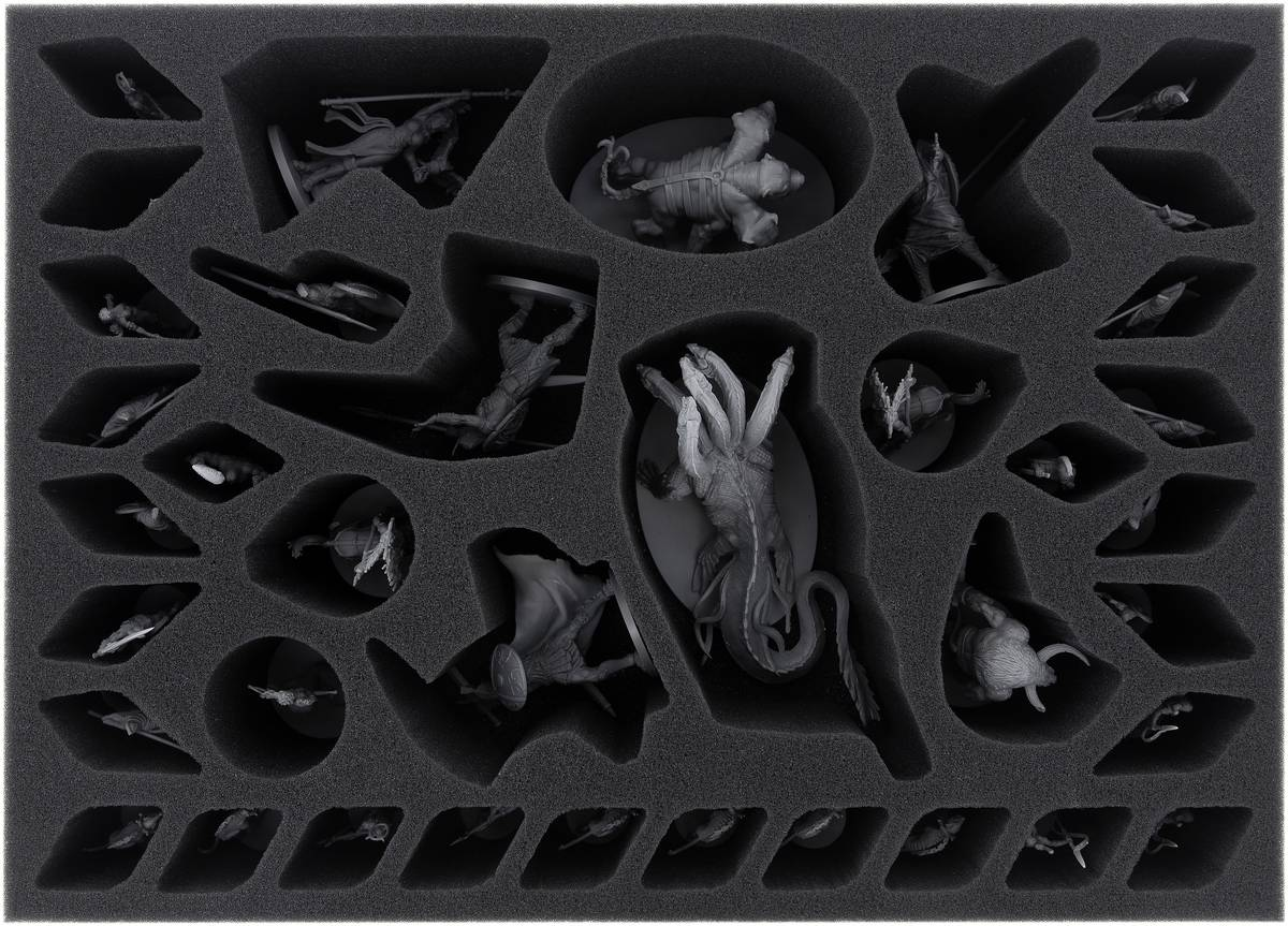AYMEAV085BO foam tray for Mythic Battles: Pantheon core game