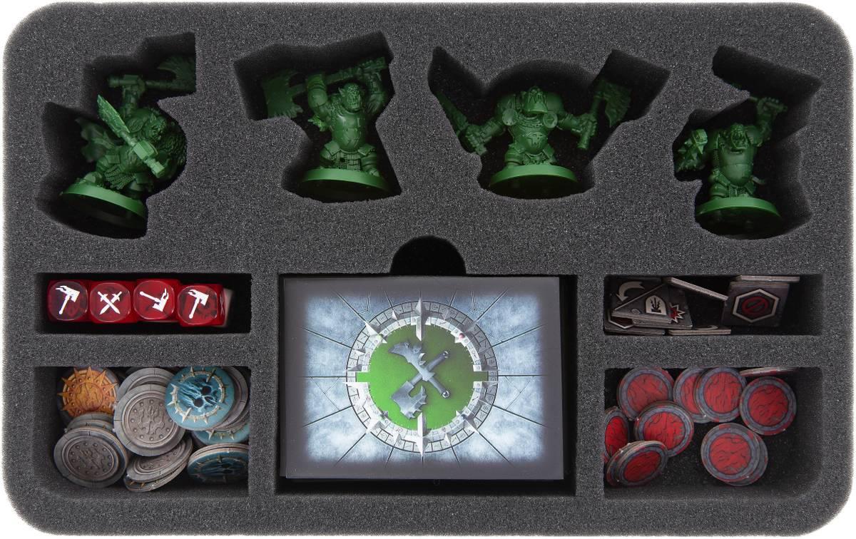HSMEAY045BO Schaumstoffeinlage für Warhammer Underworlds: Shadespire – Eisenschädels Jungz