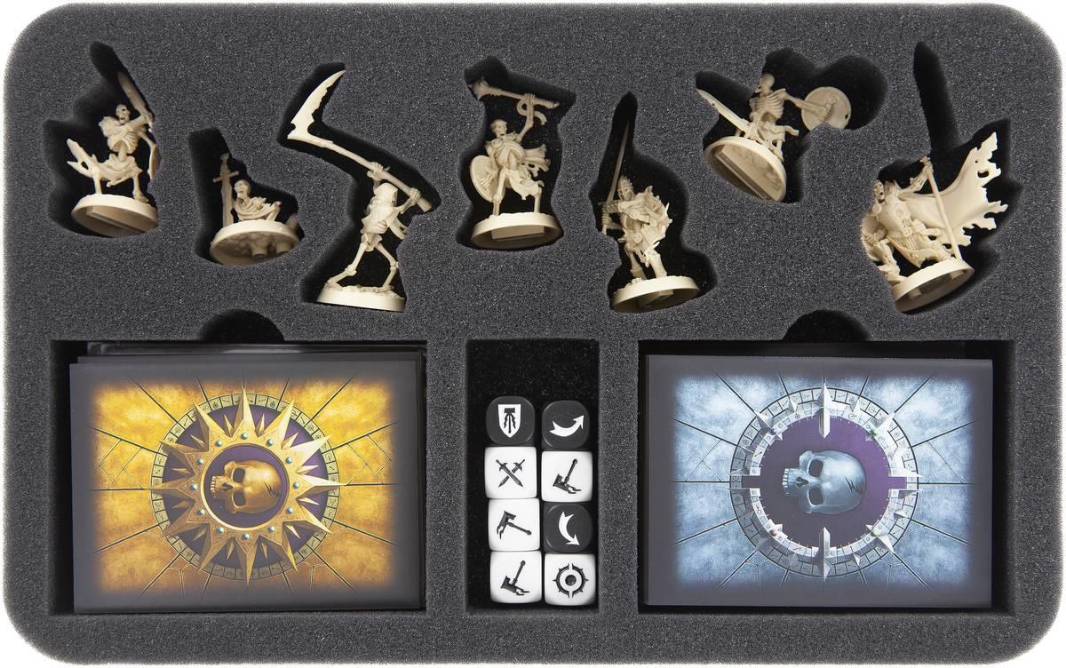 HSMEBB035BO foam tray for Warhammer Underworlds: Shadespire – Sepulchral Guard