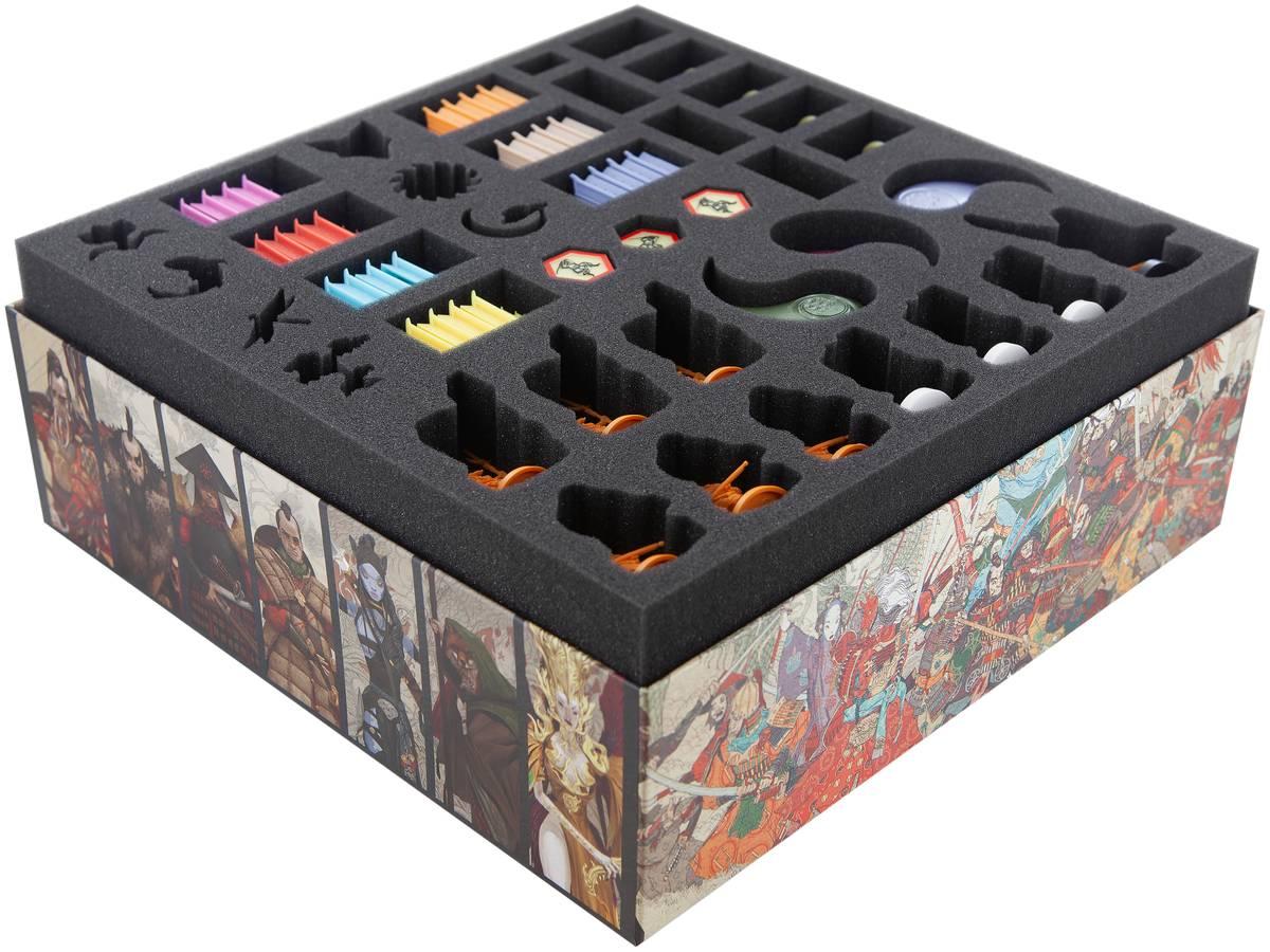 Foam tray set for Rising Sun Daimyo Box