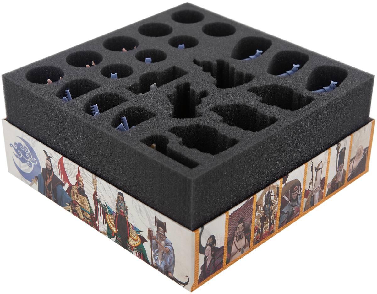 Foam tray set for Rising Sun: Dynasty Invasion