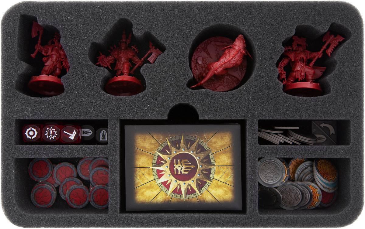 HSMECB050BO foam tray for Warhammer Underworlds: Shadespire – Magore's Fiends