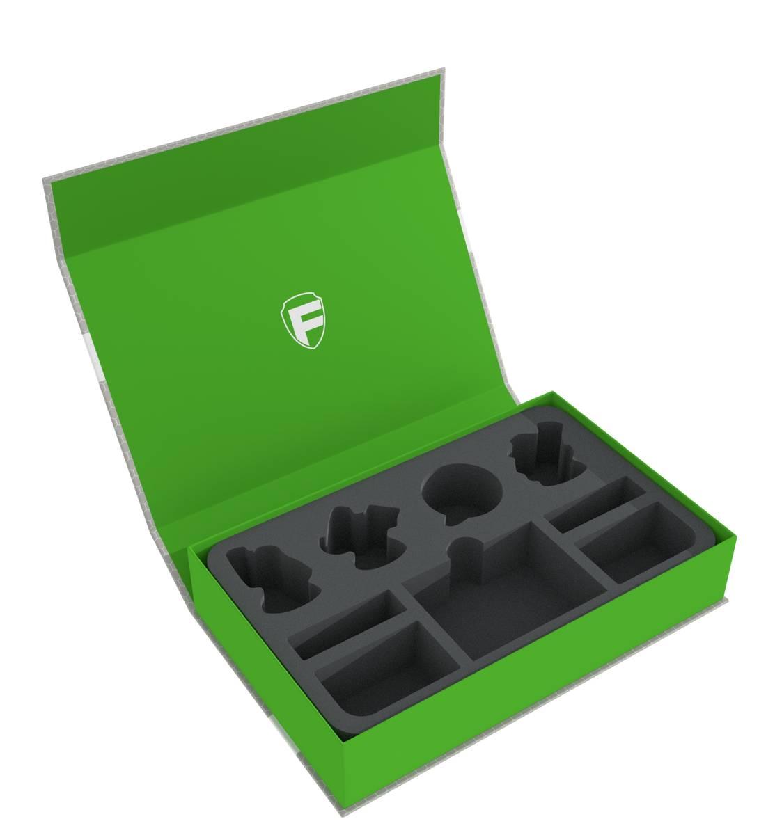 Feldherr Magnetic Box green for Warhammer Underworlds: Shadespire - Magore's Fiends