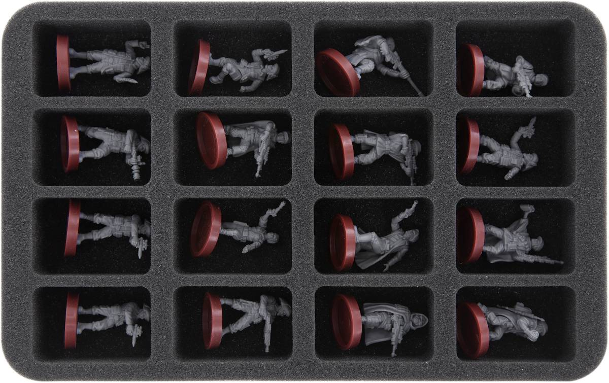 HS040LG02 foam tray with 16 slots for Star Wars Legion