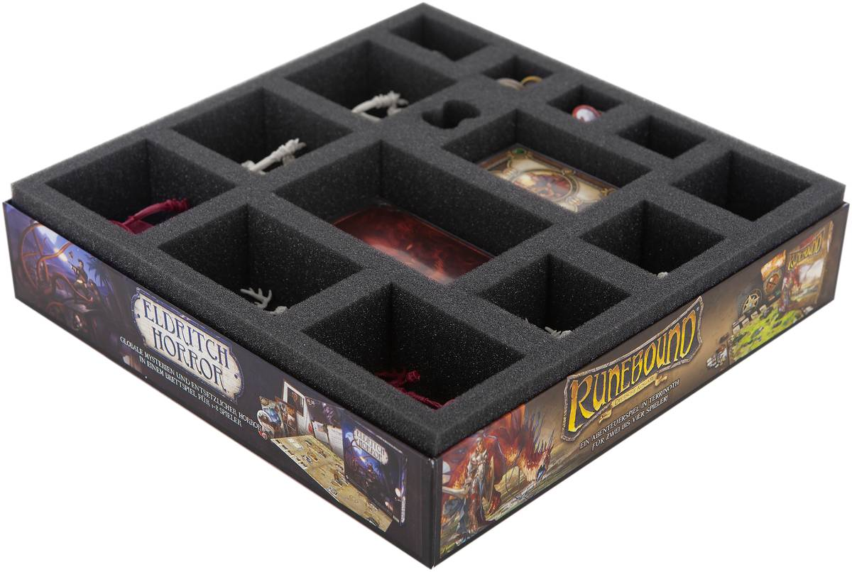 Foam tray set for Descent: Journeys in the Dark 2nd Edition - The Chains That Rust board game box