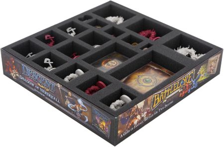 Foam tray set for Descent: Journeys in the Dark Second Edition - Mists of Bilehall board game box