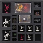 Foam tray set for Descent: Journeys in the Dark 2nd Edition – Manor of Ravens board game box
