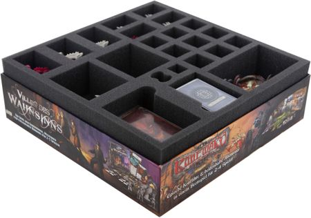 Foam tray set for Descent: Journeys in the Dark 2nd Edition – Shadow of Nerekhall board game box