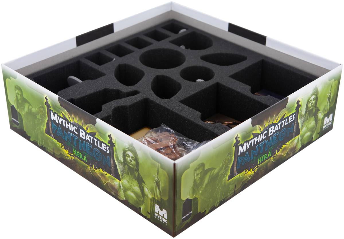 Foam tray set for Mythic Battles: Pantheon Hera Box