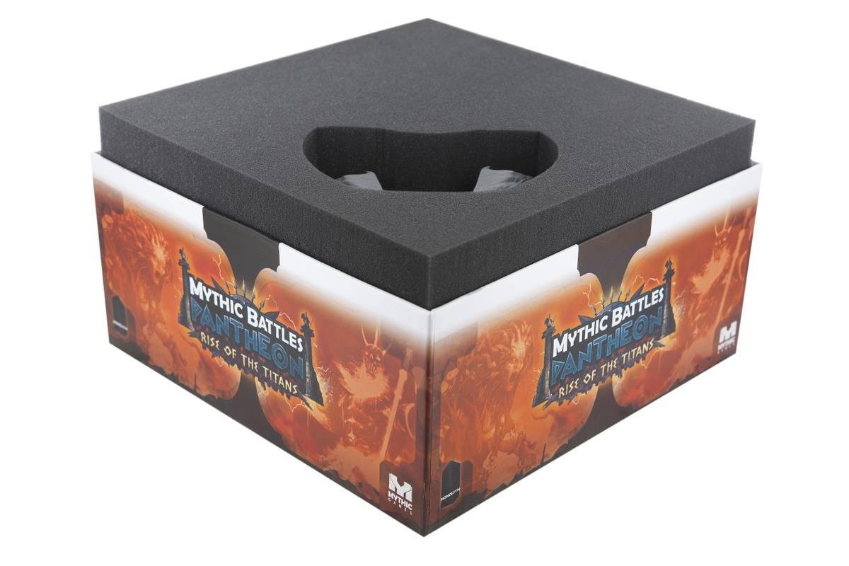 Schaumstoff-Set für die Mythic Battles: Rise of the Titans Brettspielbox
