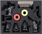 FSMECU075BO 75 mm foam tray with 10 compartments for Rising Sun - big miniatures